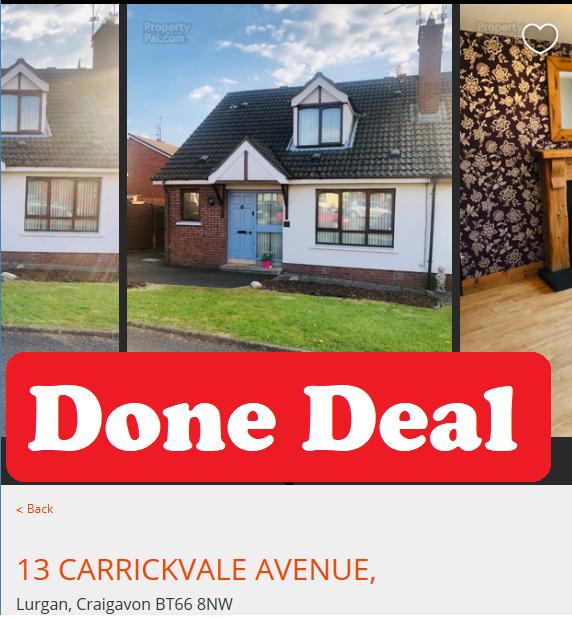 13 Carrickvale Avenue, Lurgan, Craigavon, ,Homes,SOLD,Carrickvale Avenue,1058